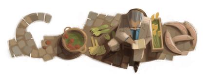 Google Logo: 100th birthday of Czesław Miłosz - Polish poet, writor and translator