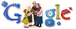 Google Logo: Grandma's Day in Poland - Dzień Babci
