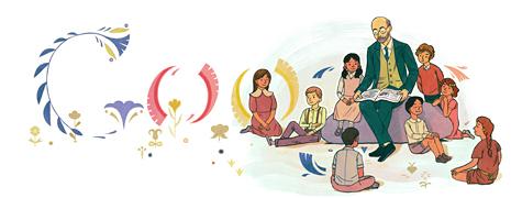Google Logo: Janusz Korczak's Year