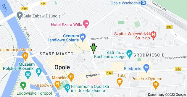 Mapa: plac Kopernika 1, 46-020 Opole
